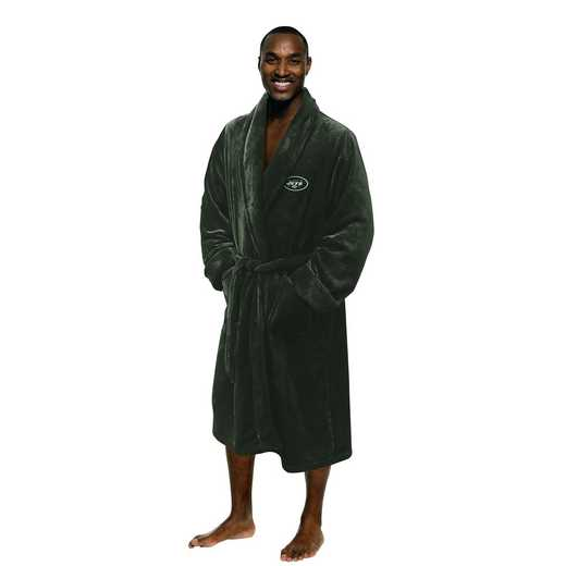 1NFL349000015RET: NFL 349 Jets Man L/XL Bathrobe